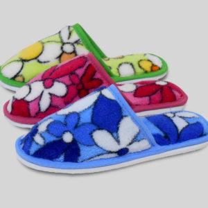 Тапочки детские с закрытым носком 011