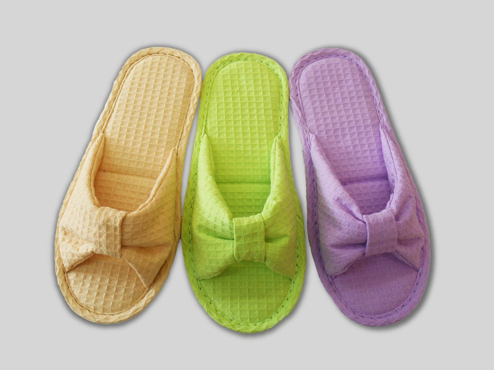 af3a1b6ab5def Тапочки женские с открытым носком 187 | Tapmoda