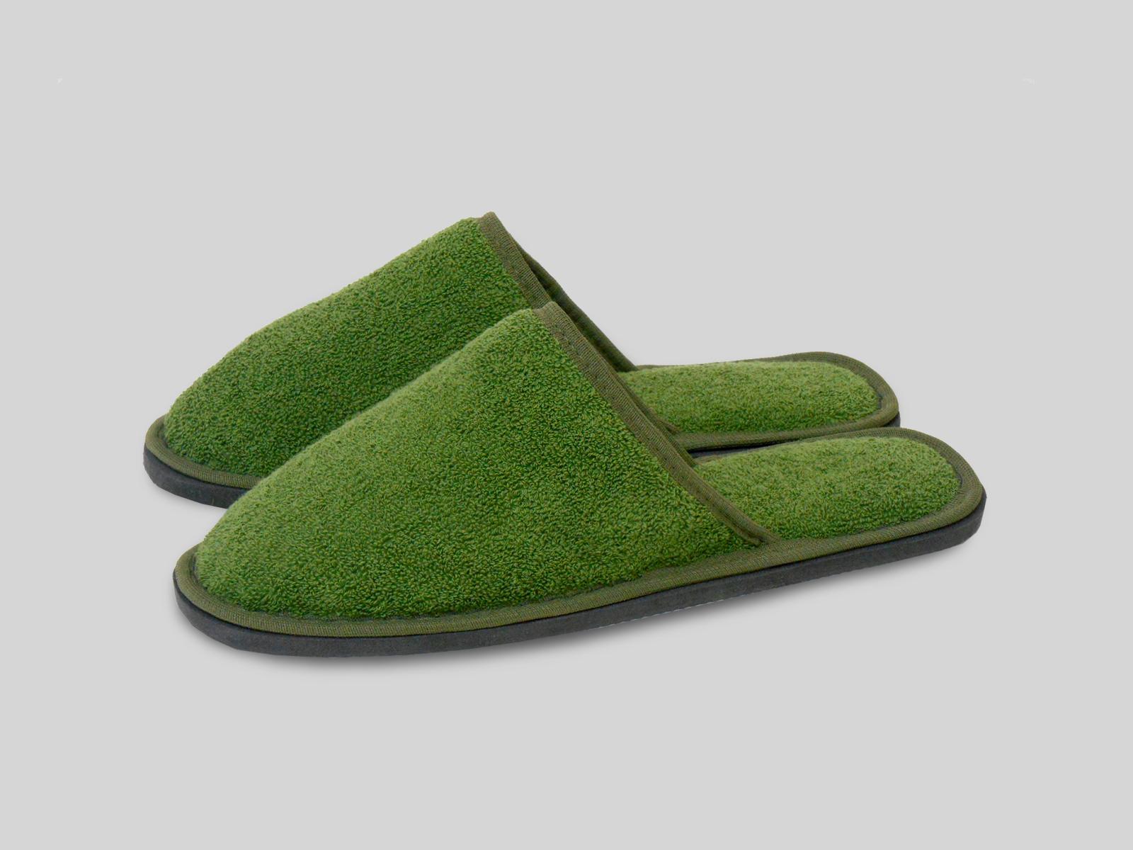 Зеленые тапочки картинки